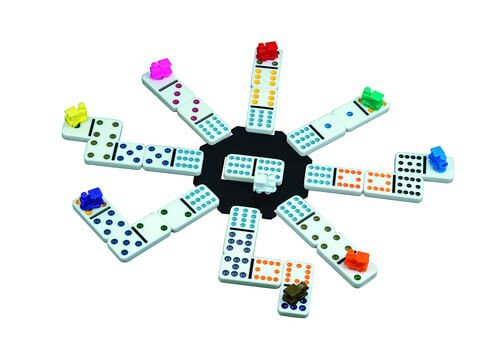 Cardinal Mexican Train Domino Set