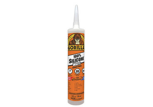 Gorilla White Silicone Caulk