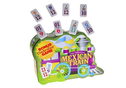 University Games Mexican Train Domino Set