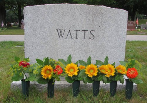 Best Artificial Flowers For Graves In