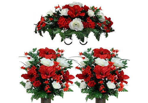 Sympathy Silks Artificial Flower