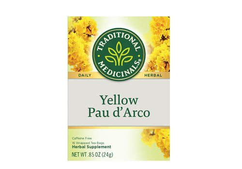 Traditional Medicinals Yellow Pau DArco Tea