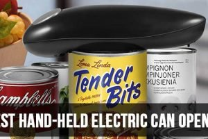 Best Hand-held Electric Can Opener