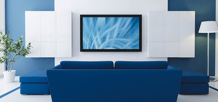 How to hang a TV on Plaster walls