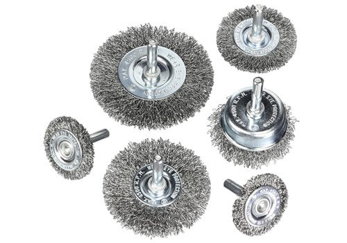 Hoyin 6 Piece Wire Wheel Set