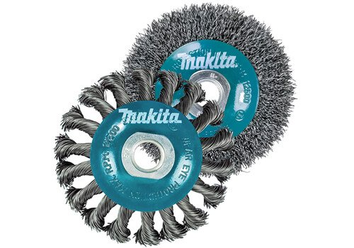 Makita 2 Piece Wire Wheel Set
