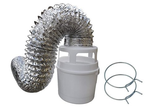 Raven Indoor Dryer Vent Kit
