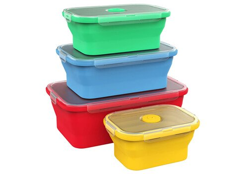 Vremi Silicone Food Storage