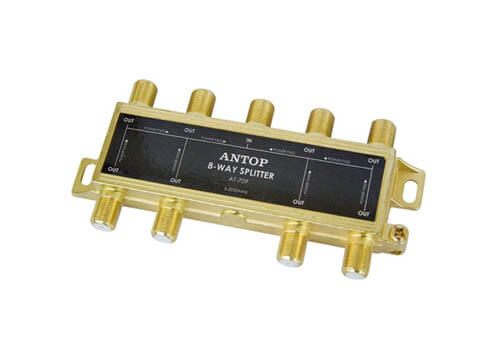 ANTOP ANTENNA 8541719146 8 Way TV Signal Splitter
