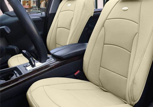 FH Group Comfort Leatherette Front Seat Cushions