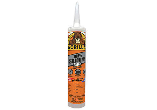 Gorilla Clear 100 Percent Silicone Sealant