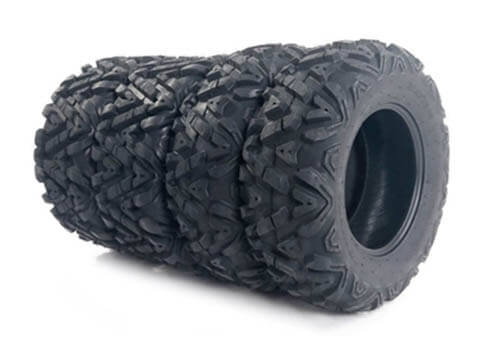 MOTOOS Complete Set of 4 All Terrain ATV UTV Tires