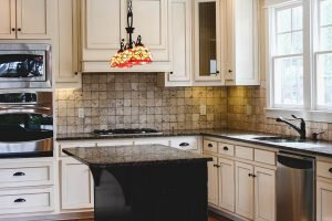 Painted White Oak Cabinets Without Grain Showing