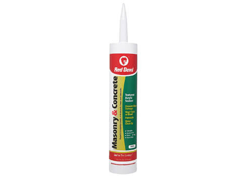 Red Devil Masonry Concrete Acrylic Sealant