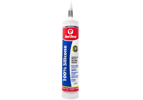 Red Devil Silicone Sealant