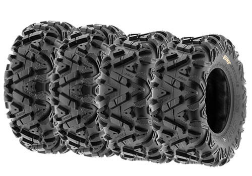 SunF Set of 4 Power.I ATV UTV All-Terrain Tires