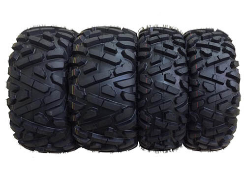 Wanda Store Set of 4 New Radial ATVUTV Tires
