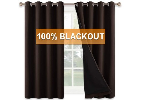 RYB Home Truly Blackout Curtain Set