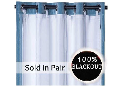 Rose Home Fashion Thermal Insulated Blackout Curtain