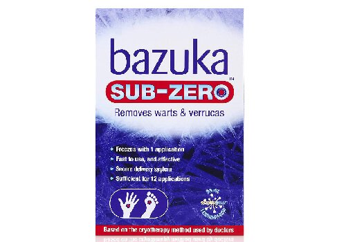 Bazuka Sub Zero Freezing Device