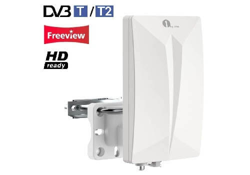 1 by one Indoor/Outdoor TV Antenna