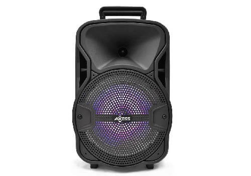 Axess Portable Bluetooth Speaker with Woofer Tweeter