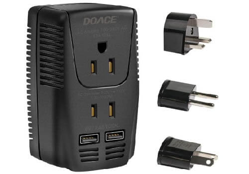 DOACE Upgraded C11 2000W Travel Voltage Converter