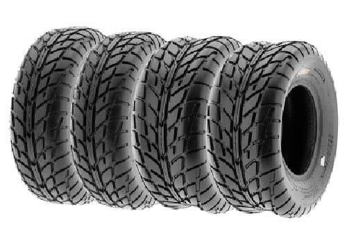 SunF Set of 4 A021 TT Sport ATV UTV Flat Track Tires