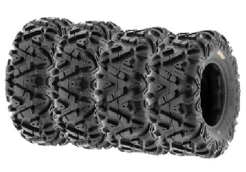 SunF Set of 4 PoweR ATV UTV allterrain Tires