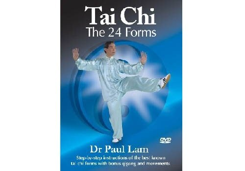 Tai Chi 24 Forms DVD By Dr Paul Lam