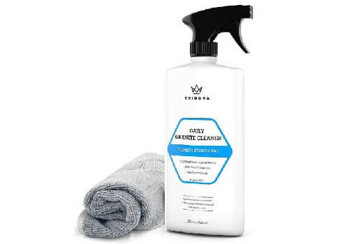 TriNova Granite Cleaner and Polish for Daily Use